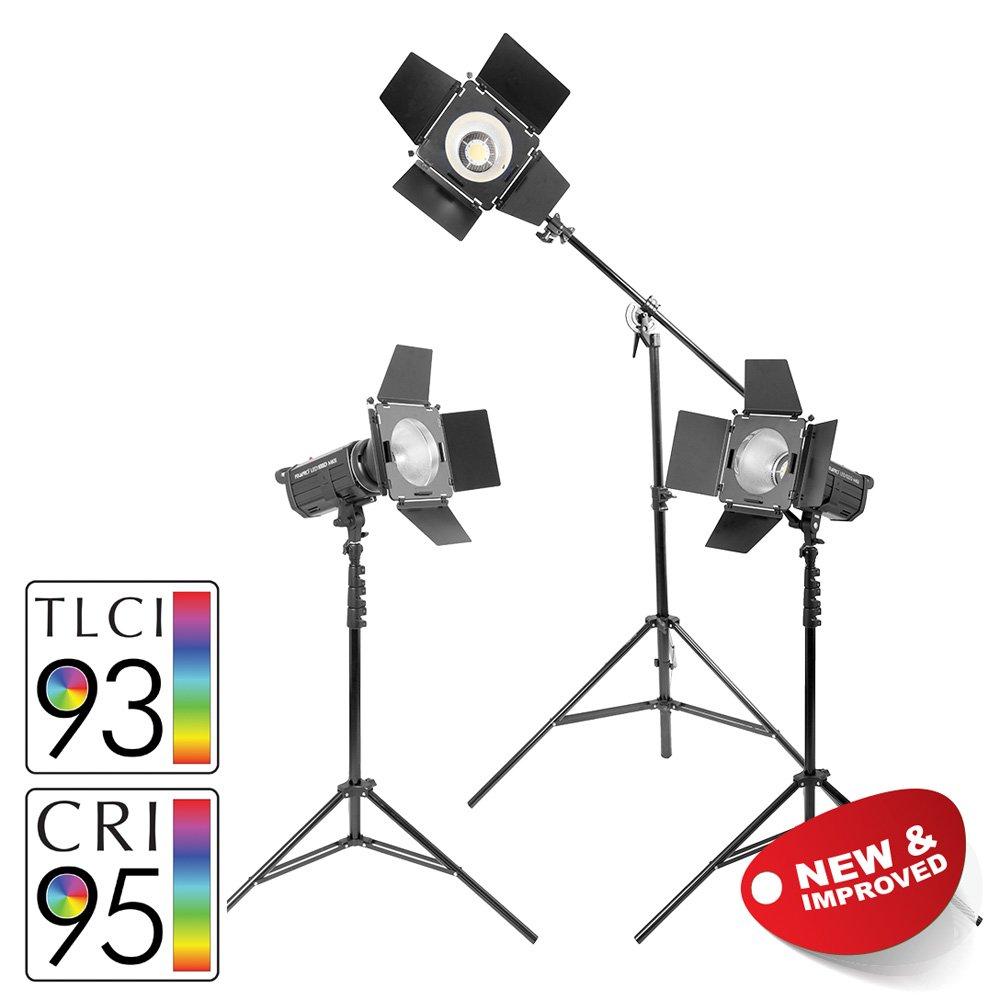 PIXAPRO LED100D MKII Luce Continua Video Luci 5500K Intervista Illuminazione Verde Schermo Cool Corsa potente Prodotto video luci CRI /& gt;90 pubblicit/à e Di Marketing ✔FastDelivery ✔marchio ✔UK Stock ✔2YearWarranty