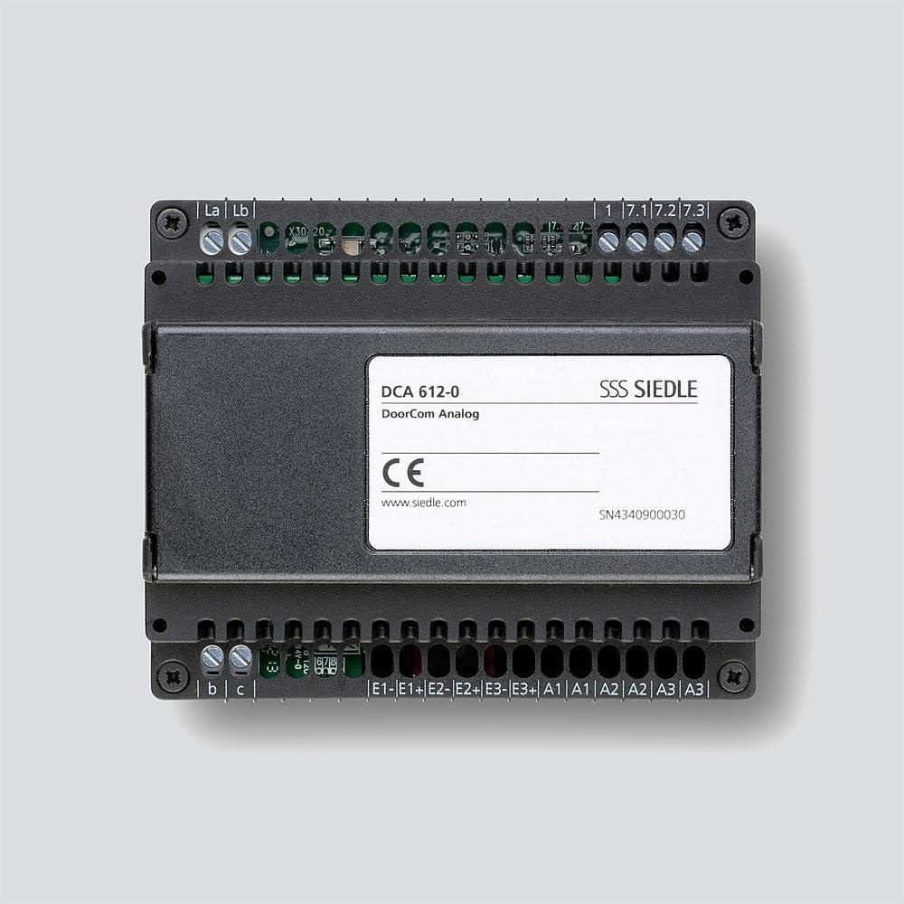 Siedle DCA 612-0 - Portero analógico (importado)