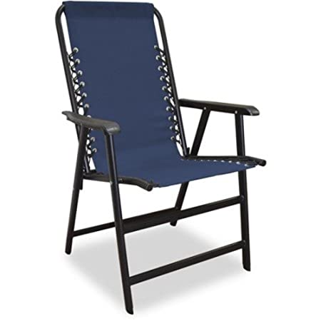 Portable Outdoor Sport Camping Beach and Lawn Folding Chair Blue