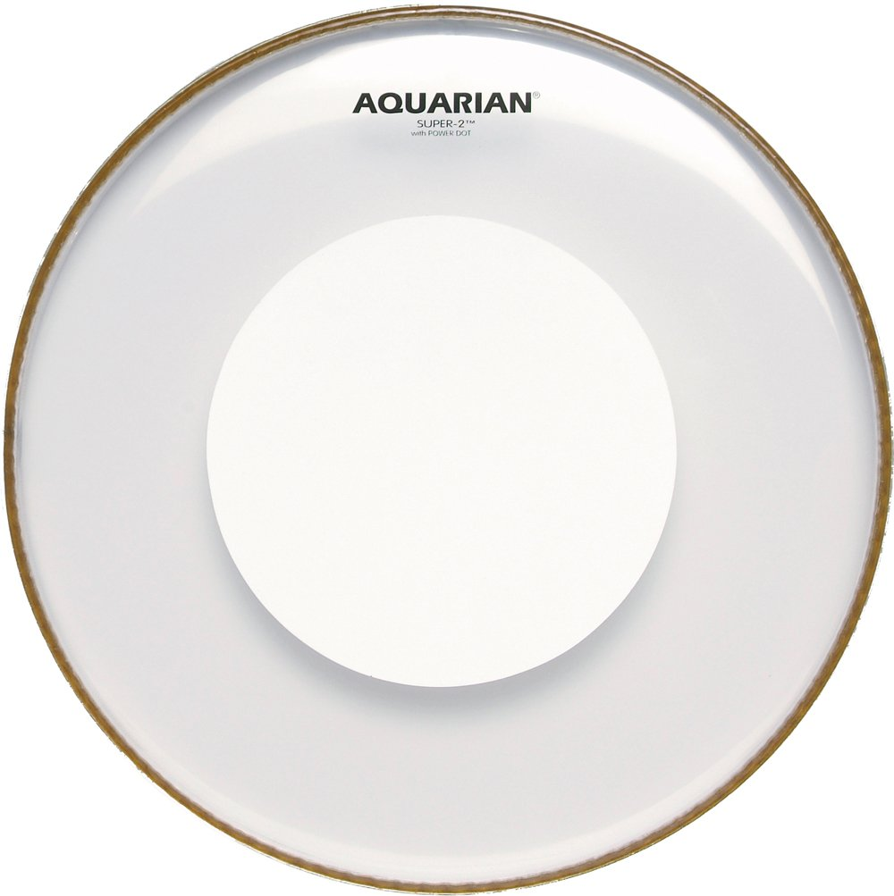 Aquarian Super-2 Clear Head with Power Dot (14