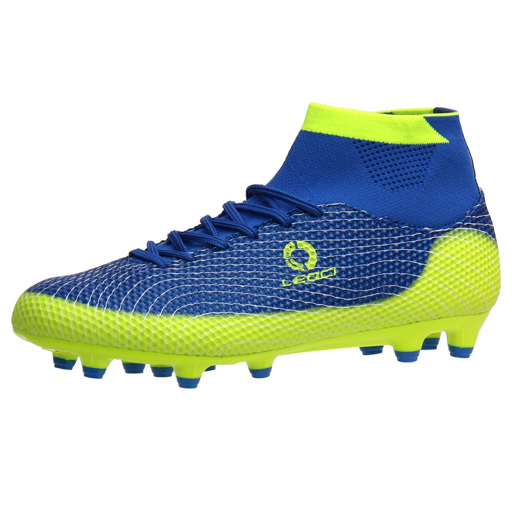 0a21a1e9e46 ALEADER Boy s Athletic Soccer Cleats Football Boots Shoes (Little Kid Big  ...