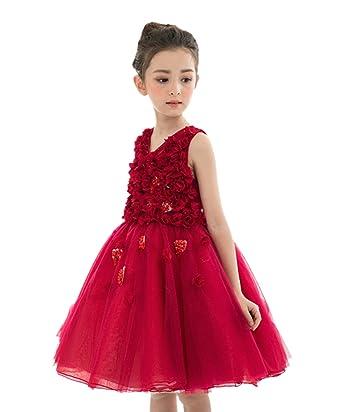480e334aa0968 Tortor 1bacha(JP) 子供ドレス 女の子 チュールドレス キッズ フォーマルワンピース 袖なし 花