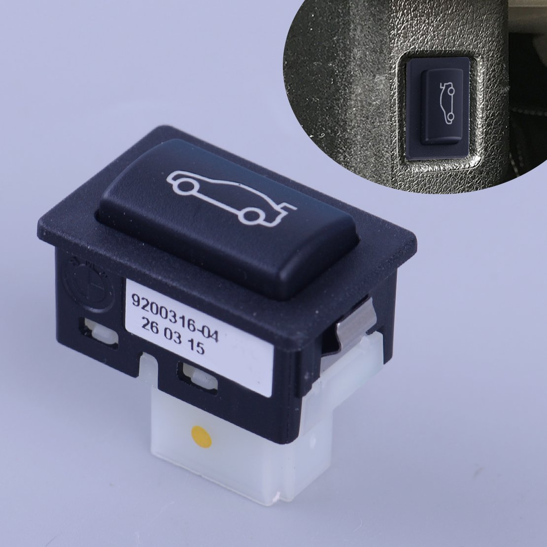 beler Trunk Unlock Switch Push Button Fit For BMW F10 F11 F20 F30 F35 F18 E84 61319200316