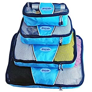 Packing Cubes   Travel Packing Cubes-4pc Set   Packing Cubes for Travel  Used for Different Purposes, Cosmetic Bag   Toiletry Bag   Toiletry Bag For Women   Makeup Bag   Travel Bag   Luggage   Top Quality and Affordable with 100% Refund Guarantee!