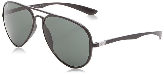 8a6febfccb0 Ray-Ban Aviator Sunglasses (Matte Black) (RB4180