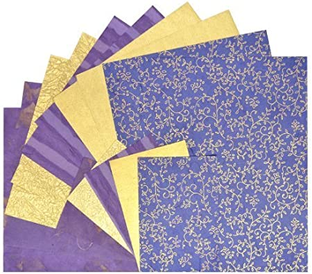 8.5 by 11-Inch Black Ink Decorative Paper Pack Blue Storm
