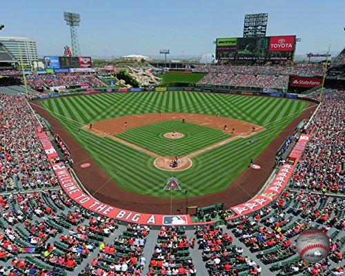 Angeles Photograph Los Angels (Angel Stadium Los Angeles Angels 2015 MLB Action Photo (Size: 8