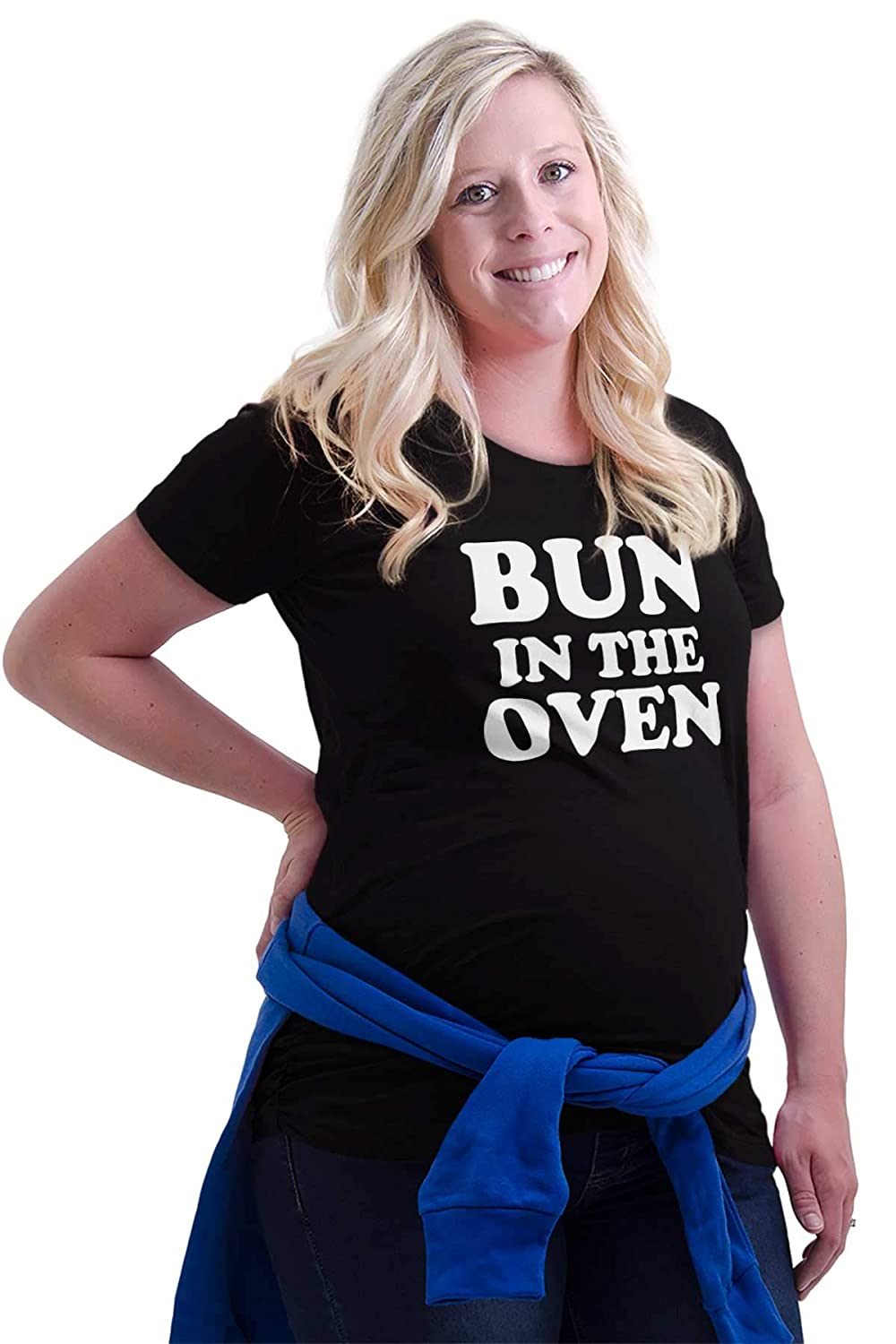 Bun in The Oven Baking Pregnant Maternity Maternity T Shirt
