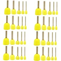 Luckkyme 40pcs 5 Sizes Round Paint Foam Sponge Brush Painting Tools Sponge Set Kids Painting Tools Sponge Stippler Set for Painting Crafts and DIY