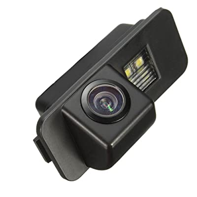 Navinio Backup Camera for Car, Waterproof Rear-View License Plate Car Rear Backup Parking Camera for Mondeo/Fiesta/Focus Hatchback/S-Max/Kuga/Everest: Car Electronics