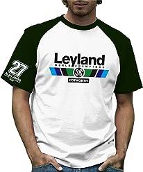Retro Formula 1 Storico Leyland Grand Prix 100% Cotone t-Shirt 7d42ce1bddf