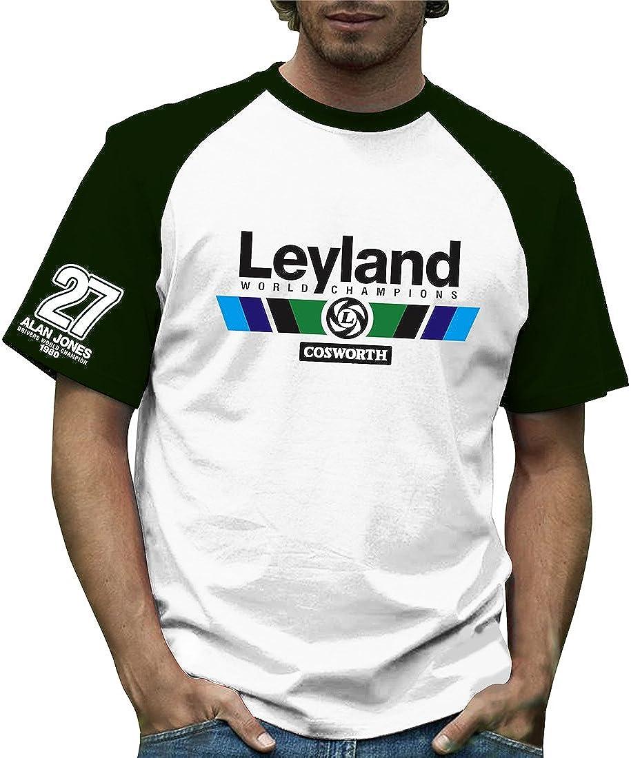 Retro Formula 1 histórico, Leyland, Grand Prix 100% algodón camiseta
