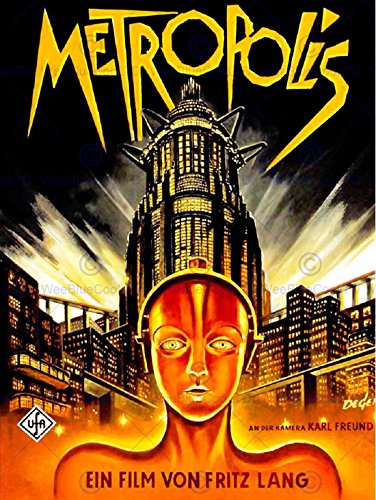 vintage film movie metropolis 1927