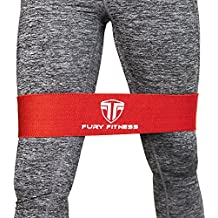 Hip Band for Women and Men V2.0 - Leg and Butt Resistance Band - Weightlifters, Crossfit, Warm Ups, Thigh Glute Activation, Rehab Physical Therapy Knee Stabilizer, Hip Flexor Stretcher & Abduction
