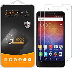 (2 Pack) Supershieldz for Huawei Ascend XT (H1611) Tempered Glass Screen Protector, Anti Scratch, Bubble Free
