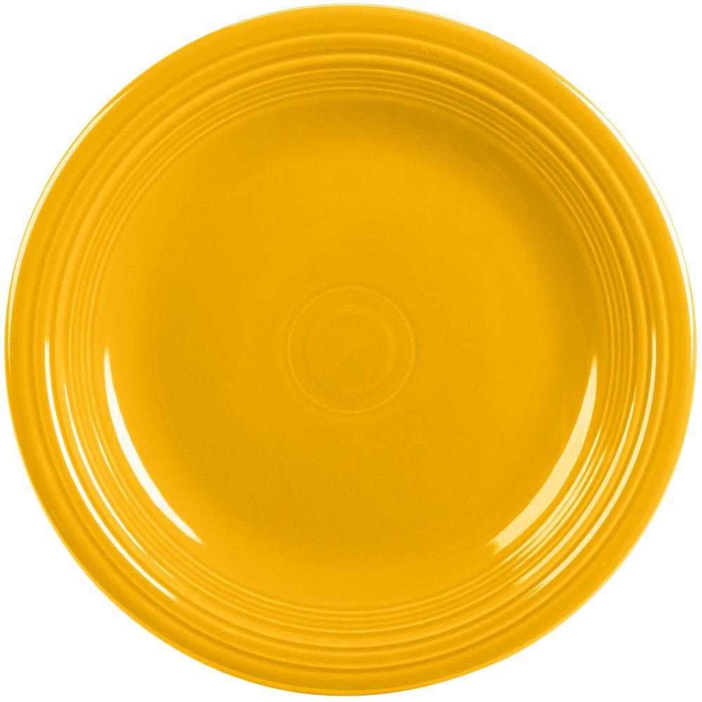 Homer Laughlin 466-342 Fiesta 10 1/2'' Dinner Plate, Daffodil