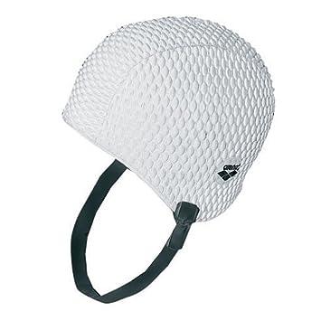 95ecb3cf44df Arena Bonnet de Natation, Blanc (White), Taille Unique  Amazon.fr ...