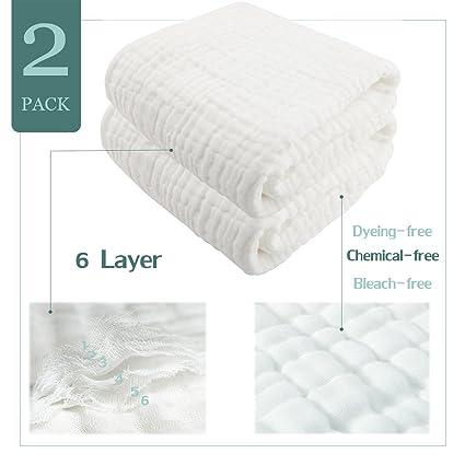 Toalla de baño de bebé con capucha – 2 unidades diseño de coser Natural algodón orgánico