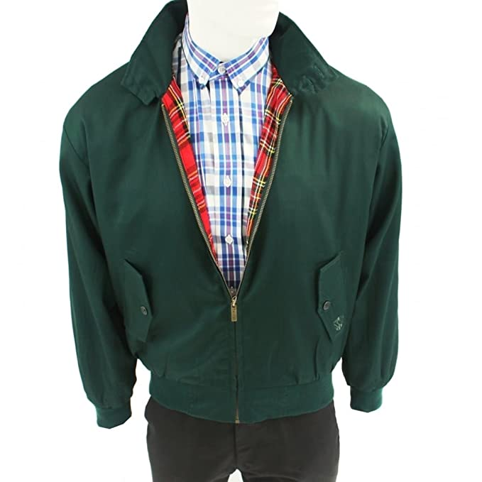 Warrior Harrington Chaqueta Ropa British Racing Verde ...