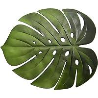 TITA-DONG kunstmatige bladeren-Kunstmatige Tropische Bladeren-Keuken Eettafel Mat Pads Kom Onderzetters Anti-slip Pad