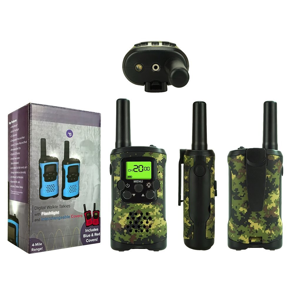 TOP Gift Outdoor Toys Walkie Talkies for Kids, Handheld Walkie Talkies for Kids Toys for 3-12 Year Old Boys Girls 2018 Christmas New for Kids Boys Girls 3-12 Green TGDJ01 by TOP Gift (Image #8)