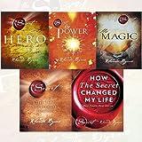 Rhonda Byrne Secret Series 5 Books Collection Set - (Hero,The Power ,The Magic,The Secret,How The Secret Changed My Life: Rea