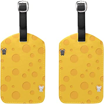 2 Pack Luggage Tags Beaches Handbag Tag For Travel Bag Suitcase Accessories