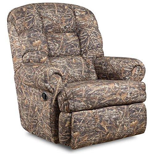 Leggett Living Room Sofa (Flash Furniture Big & Tall 350 lb. Capacity Camouflaged Encore Conceal Brown Fabric Recliner)