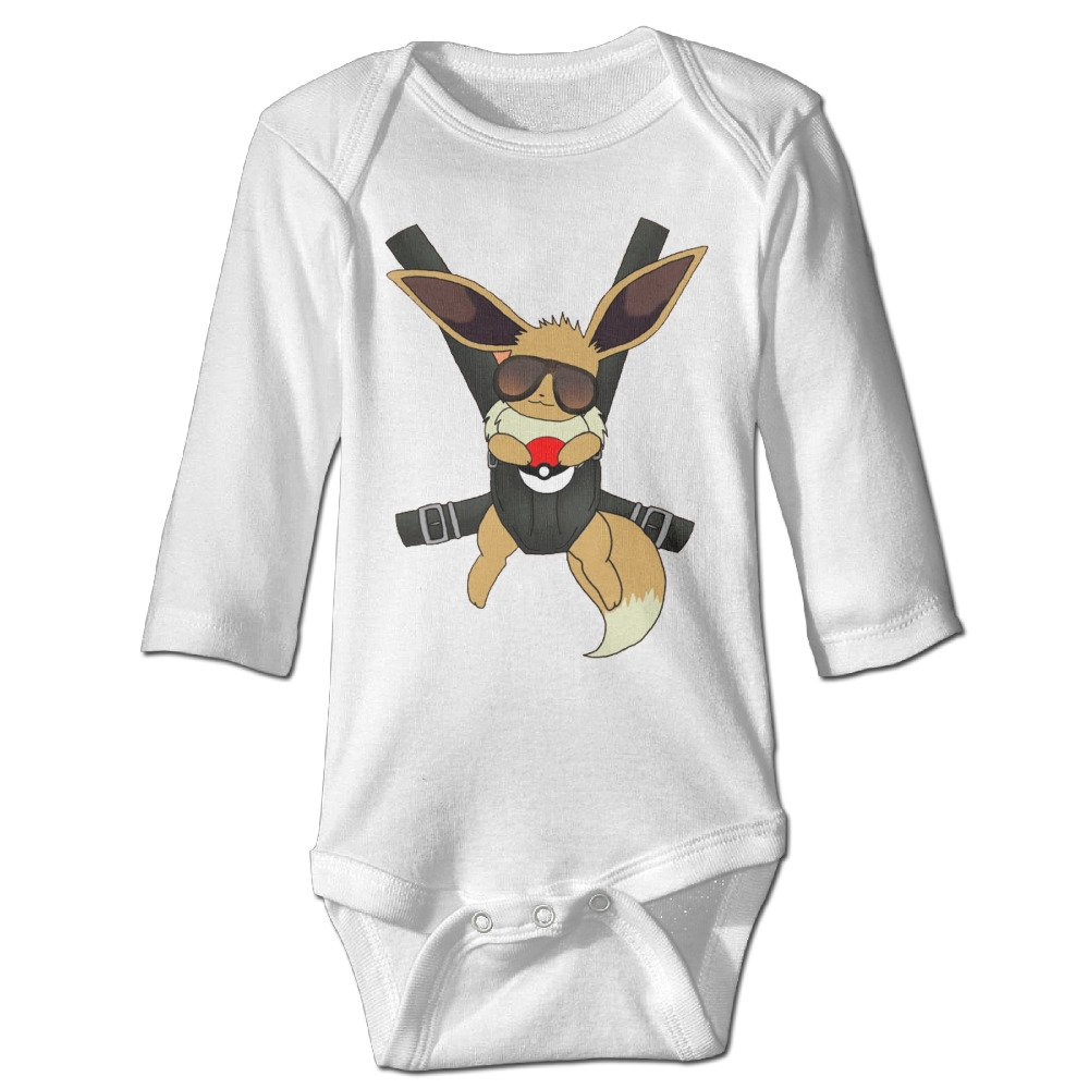 Hangover Eevee Closeup Awesome Baby Onesie Bodysuit Climb Clothes Romper For Infants