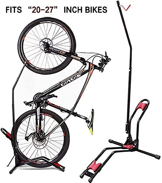 Steel Bike Rack//Stand//Storage For 3 Bikes Adjustable For Tyre Width