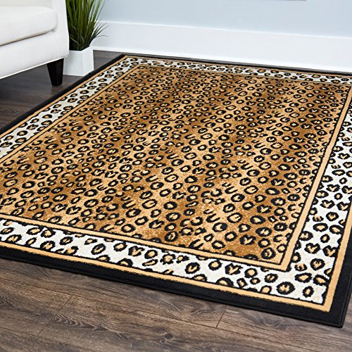 Animal Print Area Rugs Amazon Com