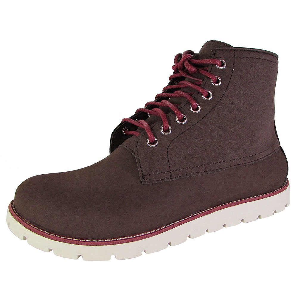 Crocs Men's Cobbler 2.0 Riding Boot, Mahogany/Stucco, 10 US/M10 M US