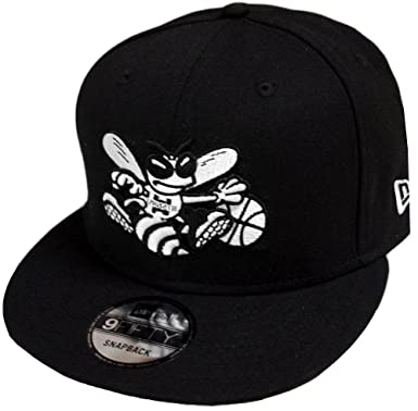 New Era Charlotte Hornets HWC Black White 9fifty Snapback Cap Limited  Edition 11b29d27b012