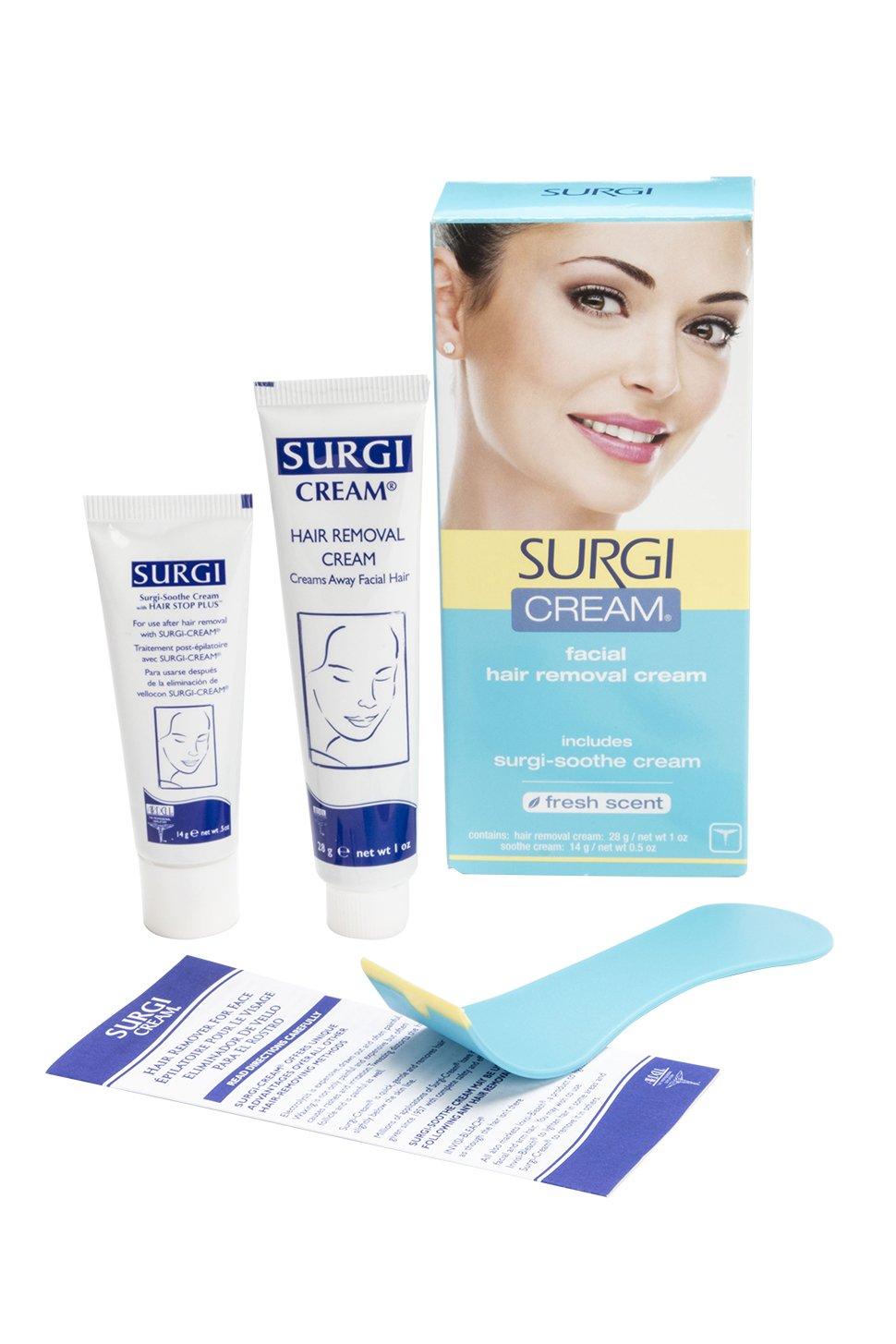 Surgi facial hair