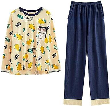 GOSO Pijama para niñas de 8 a 14 años, Pijama Pijama con Estampado de Dibujos Animados