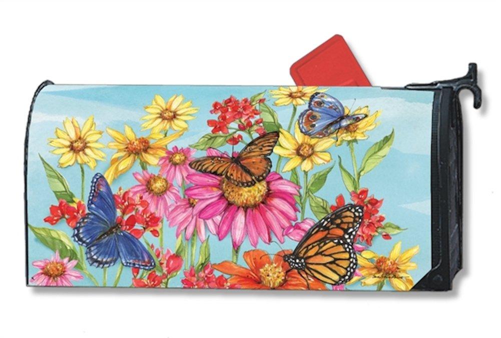 Studio M Mailbox Cover MailWrap (Field of Butterflies)