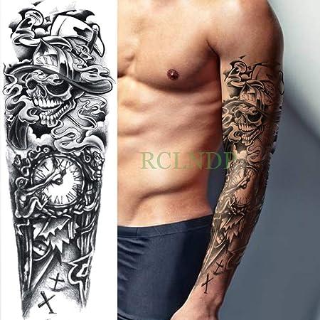 tzxdbh 3Pcs-Etiqueta engomada del Tatuaje a Prueba de Agua Dragón ...