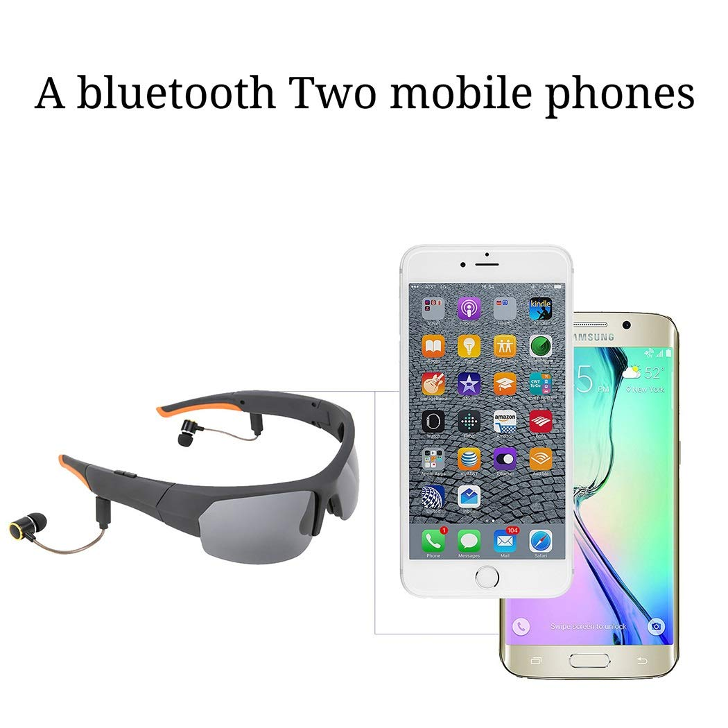 Strong And Lasting Battery Life 4.1 Bluetooth Business Eyeglasses One For Two Super 9 Level Noise Reduction