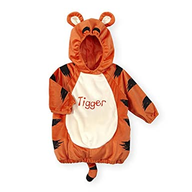 d3645fed709a Amazon.com  Baby Boys Girls Tigger from Winnie The Pooh Hooded Costume   Clothing