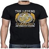 Men's The Legend Alive Carlos an Endless Legend Shirt - Tshirt