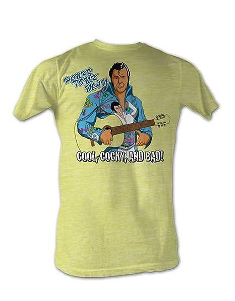 WWE - Camiseta - para hombre Amarillo amarillo Small