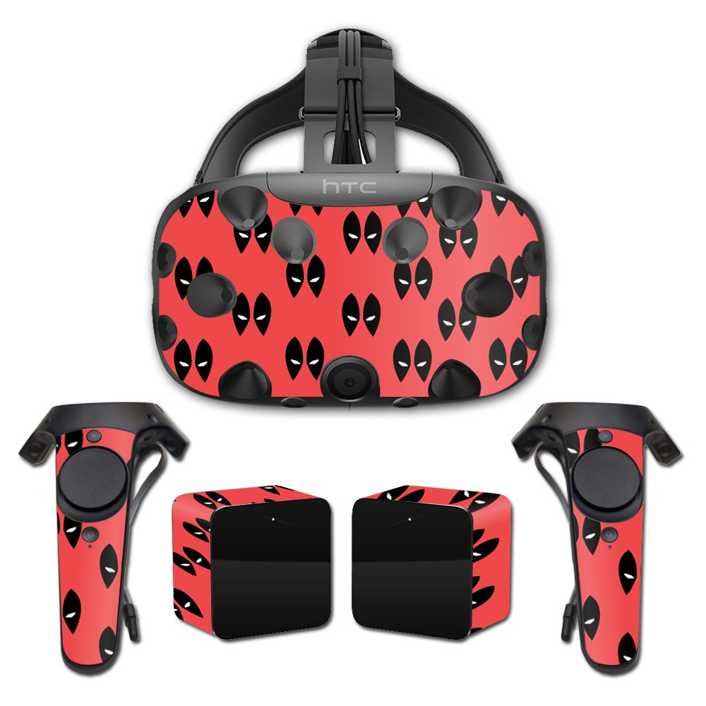 MightySkins Skin For HTC Vive Full Coverage - Dead Eyes Pool | Protective, Durable, and Unique Vinyl Decal wrap cover | Easy To Apply, Remove, and Change Styles | Made in the USA