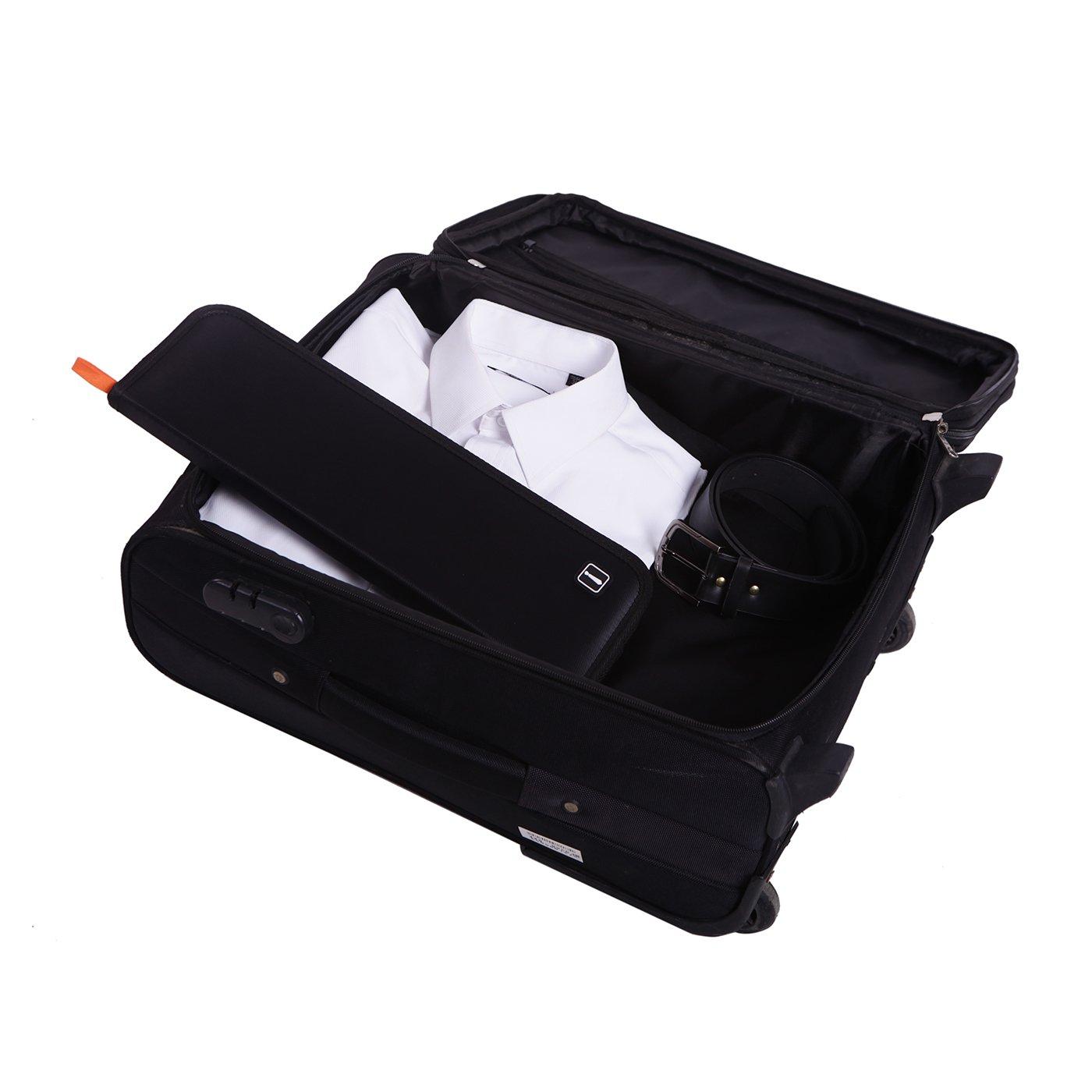 HDE Travel Tie Case Necktie Luggage Organizer Portable Nylon Storage Bag by HDE (Image #4)