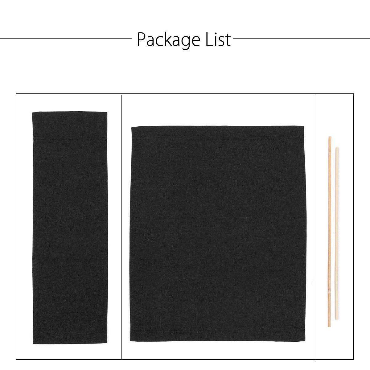 HITECHLIFE Kit Informal de Silla de Director para Cambiar Cojines de Lona y Fundas de Asientos para Tela Oxford