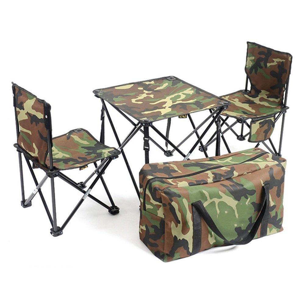 QIANGDA 屋外/アウトドア 折りたたみ テーブル椅子2脚付き オックスフォード布 鉄パイプ 袋に巻いた リムーバブル 芝生の庭 - 折りたたみ:60cm x 20cm x 20cm、 4色 オプション ( 色 : 40センチメートル-24ワット ) B07CS1295B 40センチメートル-24ワット 40センチメートル-24ワット