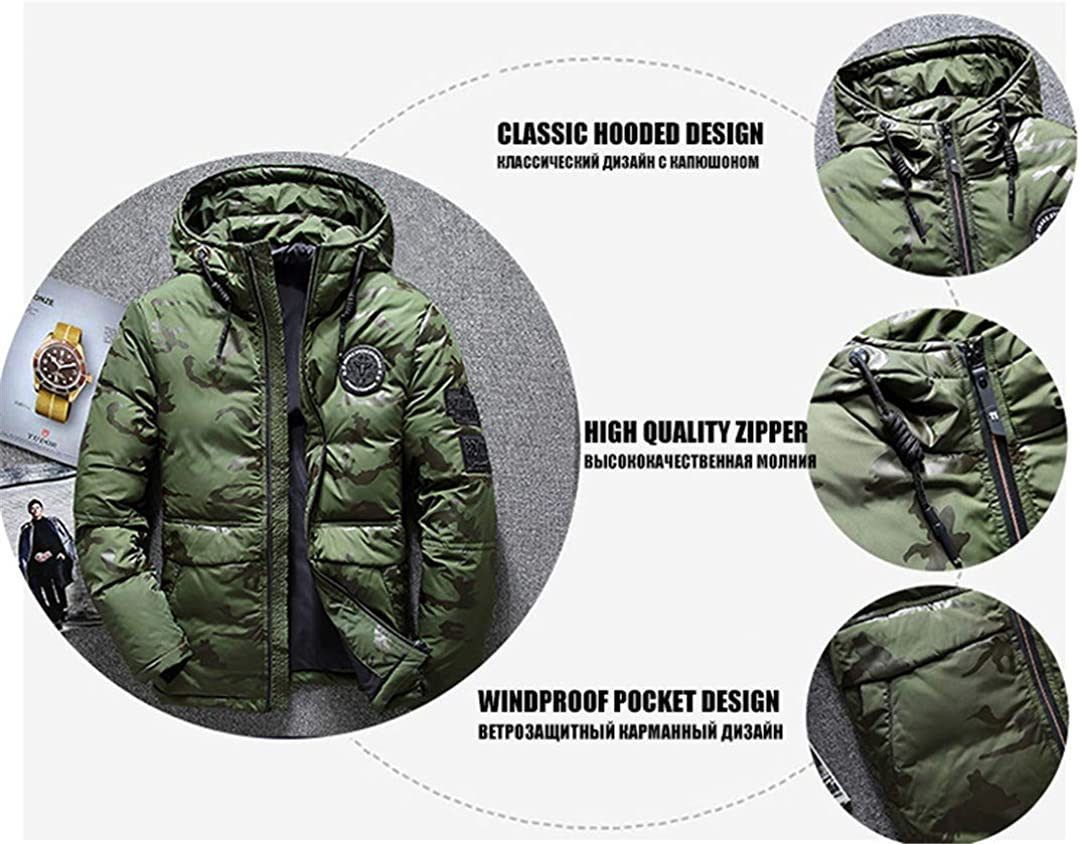 MT/&HEOST Mens Winter Cotton Clothes Middle-Aged Stand Collar Casual Parkas Thick Coat
