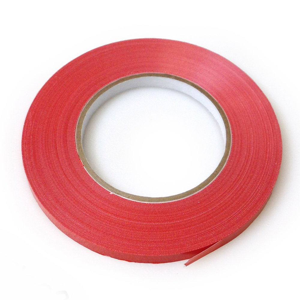 UltraSource Freezer Bag Sealing Tape, Red (180 yd/roll)