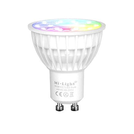 SceneControlled Color Smart Light WiFi Movie Party LED LED Mi Changing Lampfor BulbGU10 Night by Light 4W SpotlightDimmable Light CCT Mi RGB EID9W2HY