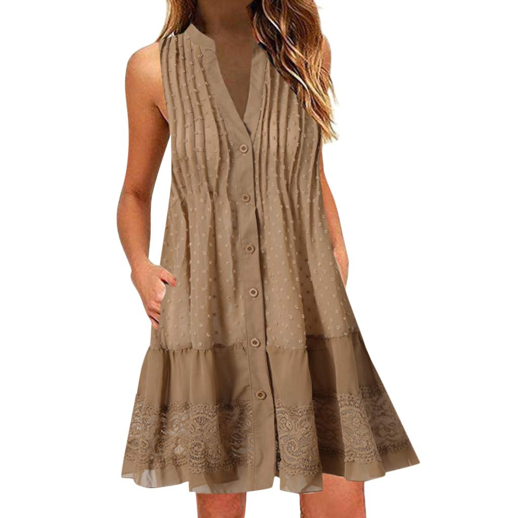 EDTO Women's Dresses Casual...