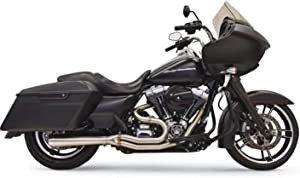 Bassani Manufacturing Road Rage 3 2 into 1 Exhaust Stainless Steel Short Megaphone